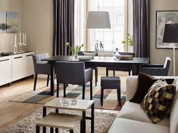 dining room sets ikea oval table contemporary pendant lighting dining room sets ikea oval table contemporary pendant lighting sillver chromed metal frame dark wood floors chandelier dark brown wooden square tall table