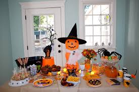 kids halloween birthday party ideas halloween party table decorations