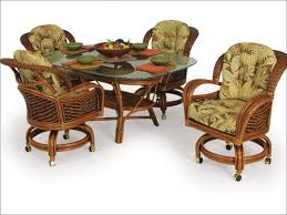 kitchen dining chairs with casters wholesale fabric office