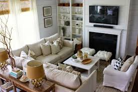Small Living Room With Sectional Eclectic Home Tour House Seven Furniture Layout Console