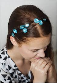 jeweled headbands keep your hair tidy and stylish with 21 easy diy headbands page