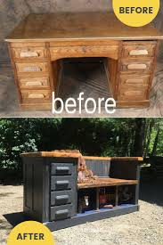 Rustic Wood Desk Best 25 Repurposed Desk Ideas Only On Pinterest Shutter