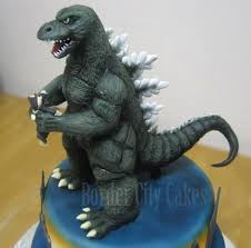 godzilla cake topper superb godzilla cake topper godzilla cake and birthdays