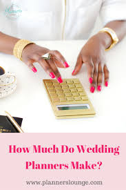 wedding planner salary wedding planner salary