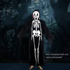 skeleton costume adults printed skeleton costume men women scary ghost
