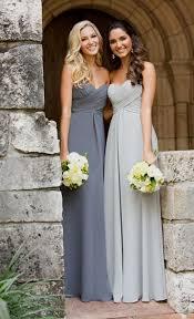light gray bridesmaid dresses light silver bridesmaid dresses naf dresses