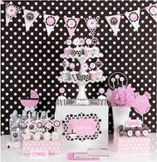 mod baby shower pink baby shower mod party kit decorative hanging