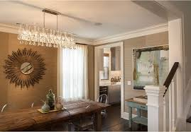 Linear Chandelier Dining Room Decoration Rustic Dining Room Light Fixtures We Really Like