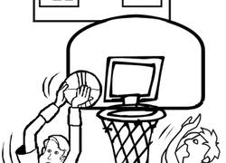 basketball coloring pages u0026 printables education