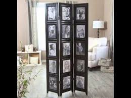 memories double sided photo frame room divider panel room divider