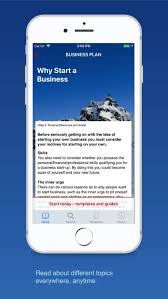 business plan for startups on the app store
