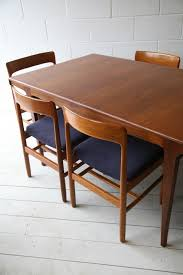 S Teak Dining Table And  Chairs By Dalescraft Retro Lakas - Teak dining room