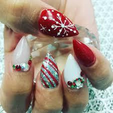 sleek christmas nail art zestymag christmas nail art christmas