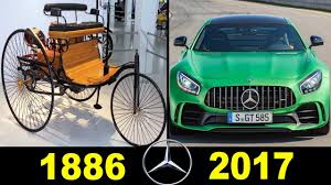 first mercedes 1900 mercedes benz evolution 1886 2017 youtube