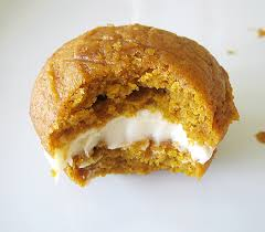 pumpkin whoopie pies with maple cheese filling brown eyed