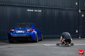 lexus rc f tire size lexus rc f on vossen vfs 2 vossen wheels 2015 1054 vossen