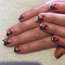16 white and black nail design black and white nails with glitter