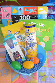 baby easter basket non candy easter basket ideas s fabulous finds