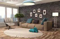 steinwand wohnzimmer beige szene steinwand wohnzimmer braun steinwand wohnzimmer braun 2