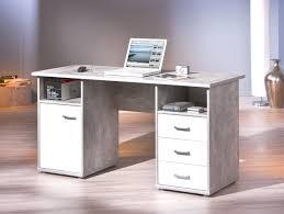 bureau couleur meuble bureau en couleur béton avec façades blanches florus belfurn