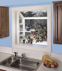 how to decorate garden windows for kitchens so that the windows