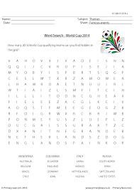 word search nationalities printable 40 free world cup worksheets and lesson plans