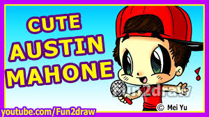 fun2draw thanksgiving cute austin mahone how to draw people fun2draw mei yu
