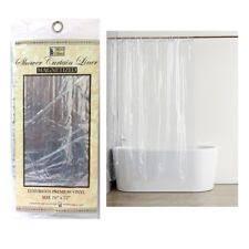 Transparent Shower Curtains Transparent Shower Curtain Ebay
