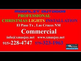 business commercial christmas lights installation el paso tx las