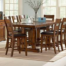 Steve Silver Dining Room Sets Steve Silver Zp550pt Zappa Counter Table In Medium Cherry With 18