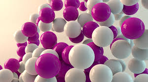 white and purple balls wallpaper for iphone 4
