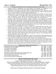 Sample Resume For Law Enforcement by Park Ranger Resume Sample Http Resumesdesign Com Park Ranger