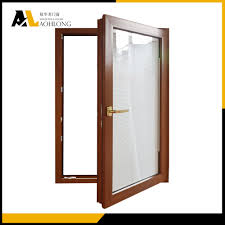Casement Window by Thermal Break Aluminum Casement Window With Double Glazing China