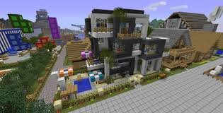 modern house server online minecraft project