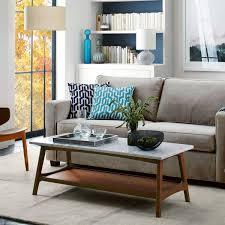 reeve mid century rectangular coffee table west elm au