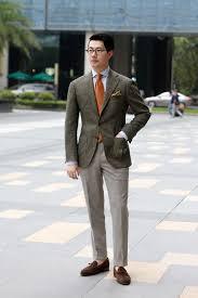 men u0027s dark brown wool blazer light blue dress shirt grey wool