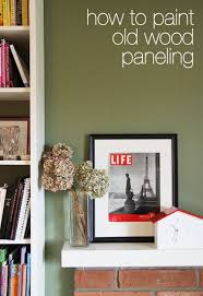 this week for dinner how to paint old wood paneling this week