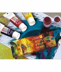 camlin acrylic colour box 700 m 12 12 shades buy online at