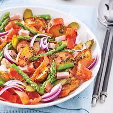 recette cuisine gourmande salade gourmande de pommes de terre rôties recettes cuisine et
