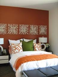 Wall Hung Headboard by Blue Accent Walls In Bedroom Green Leaf Pink Floral Wallpaper