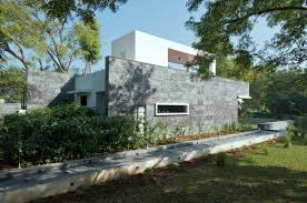 Contemporary House Design by Minimalist And Contemporary House Design In Baroda India By