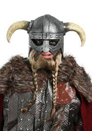 Viking Halloween Costume Women Viking Warrior Mask