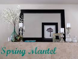 Mantel Decor 59 Best Spring Hearth U0026 Mantel Ideas Images On Pinterest Mantle