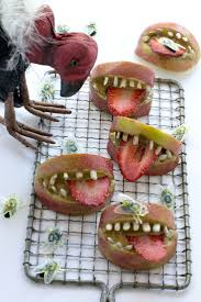 Easy Healthy Halloween Snack Ideas Cute Halloween Fruit And 86 Best Vegan Halloween Images On Pinterest Halloween Recipe