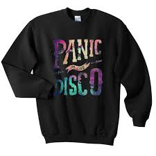 galaxy sweater panic at the disco galaxy sweatshirt payunan