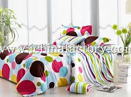 china factory printed bed sheets 4pcs bedding set king size