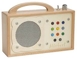 cd player kinderzimmer mp3 player für kinder hörbert aus holz de elektronik