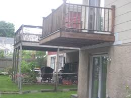 cantilevered deck cantilevered balcony
