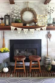 Inspire Home Decor Diy Fall Mantel Decor Ideas To Inspire Landeelu Com