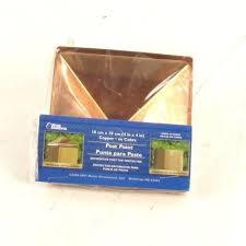 maine ornamental 4 x 4 copper post cap 74378